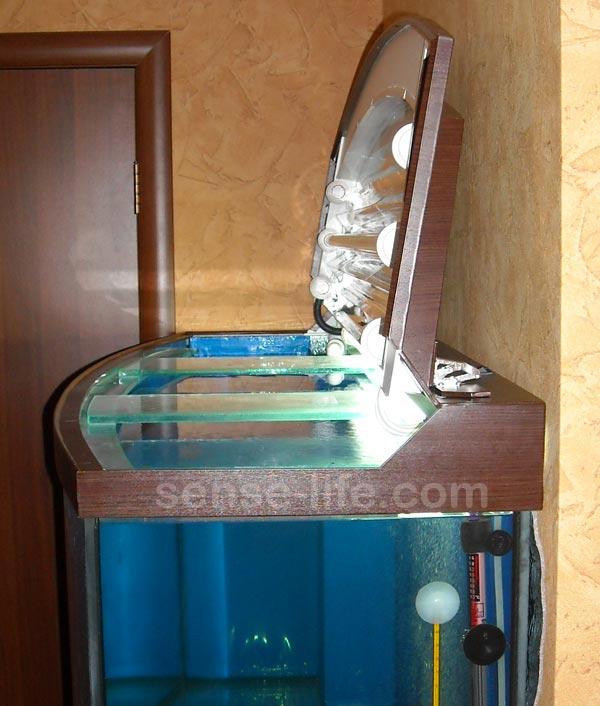 самодельная крышка на аквариум