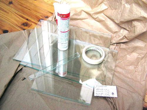 Как самим сделать стекло 575