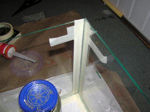 Склеивание стекла к стеклу своими руками