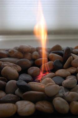 горение биокамина