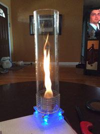 Биокамин огненный вихрь своими руками
