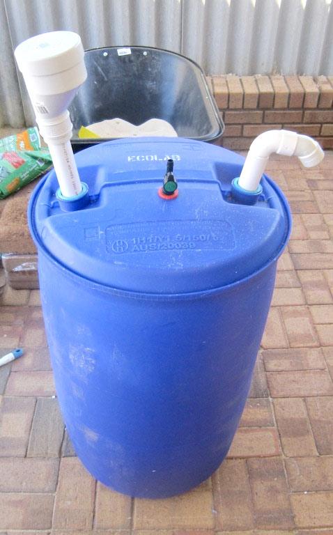 самодельный реактор биогазовой установки
