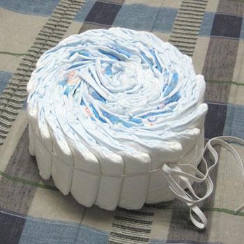торт из памперсов.