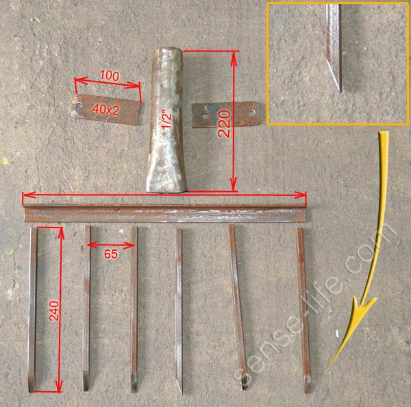 Как сделать самодельную лопату своими руками
