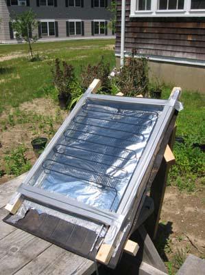 Солнечный водонагреватель (коллектор) своими руками.