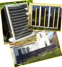 Как сделать солнечный воздушный коллектор своими руками