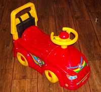 Детский электромобиль своими руками.