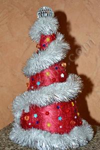 новогодняя елка колпак своими руками