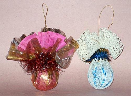 Воздушные шары из лампочек своими руками