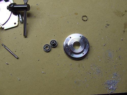 Часы из жесткого диска — фото 7