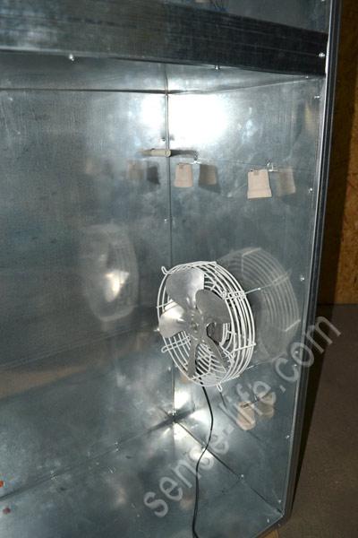 установка нагревателей в инкубатор