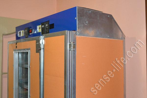 самодельный инкубатор с выводным шкафом
