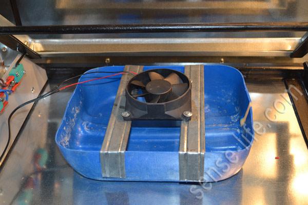 система увлажнения в инкубаторе