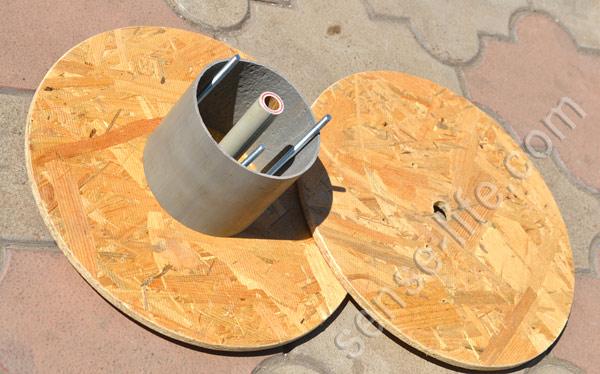 Как самому сделать катушку деревянную