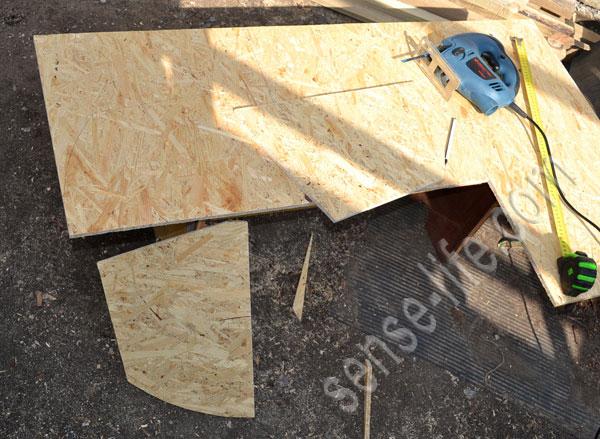 изготовление навесного сенника