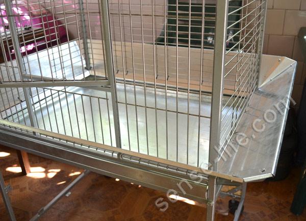 фартук для самодельной клетки для попугаев