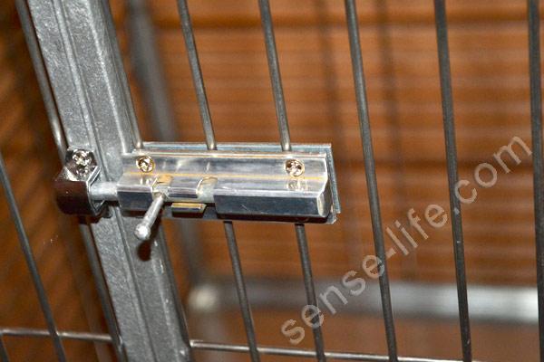 засов на клетку для попугаев