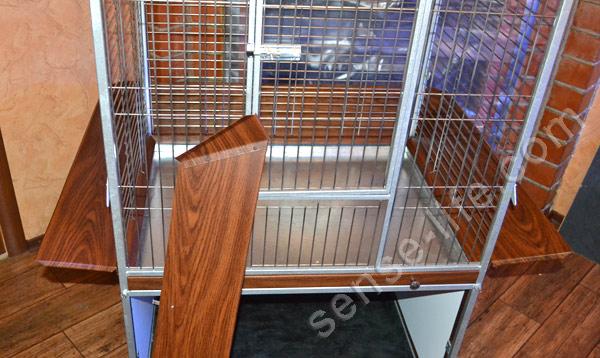 изготовление клетки для попугаев своими руками