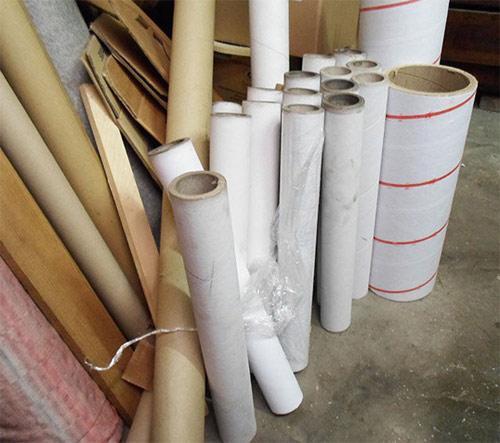 картонные трубы