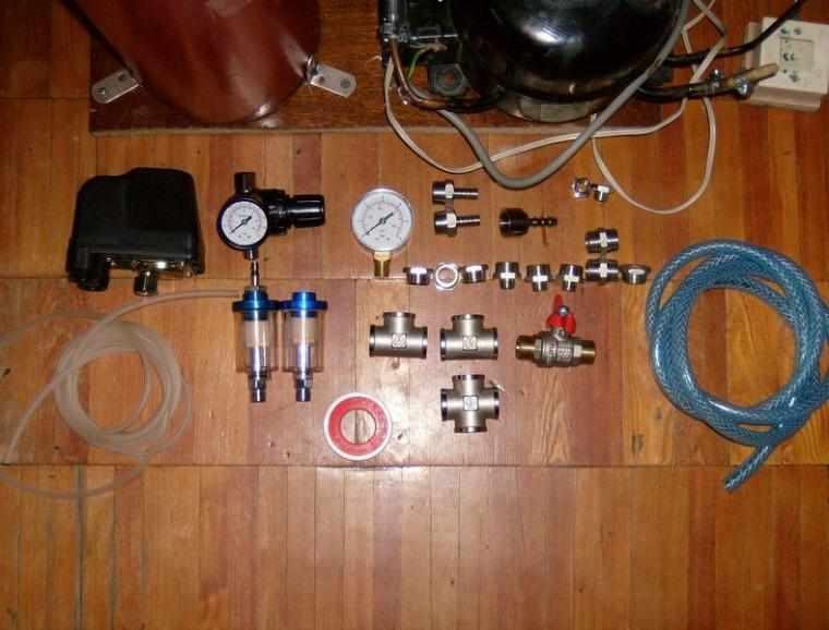Как сделать мини компрессор в домашних условиях видео