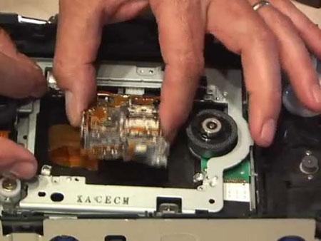 Разборка DVD-RW привода