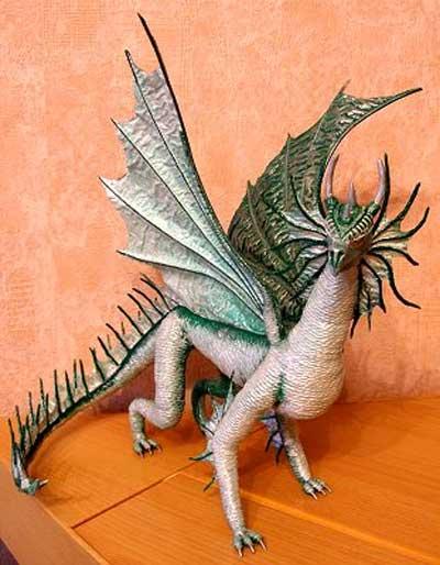 Делаем дракона своими руками.