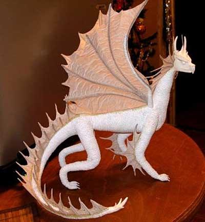 самодельный дракон