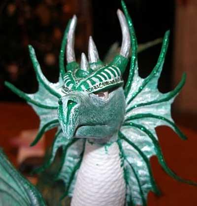 Как сделать тело для дракона