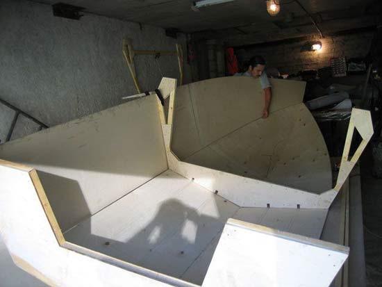 обработка фанерной лодки