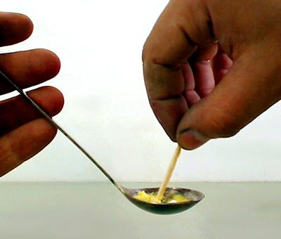 приготовление люминофора