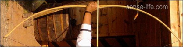 Как сделать лук из бамбука своими руками 80