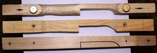 Разборный лук своими руками чертежи фото 214