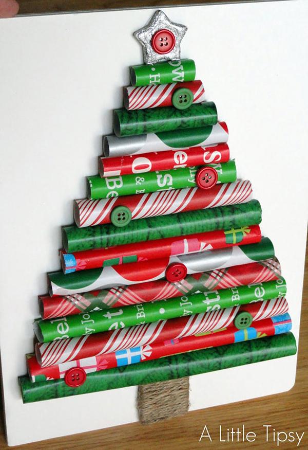 забавная новогодняя елка