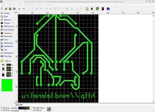 Очень часто в процессе технического творчества необходимо изготавливать печатные платы для монтажа электронных схем.