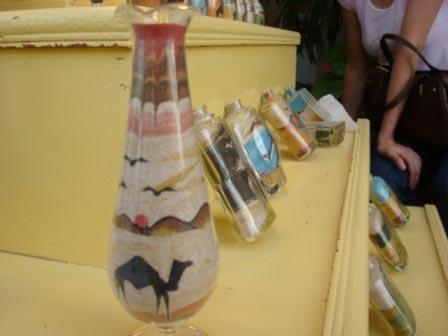 Искусство бутылок с песком