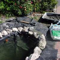 Строительство пруда на своем участке. Декоративный водоем. 6047s