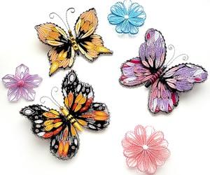 квиллинг изготовление бабочек