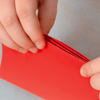К сделать книгу из бумаги цветной