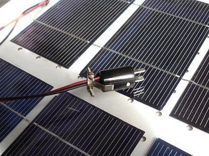 изготовление солнечной панели