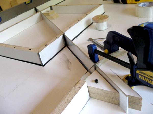 изготовление столешницы из бетона