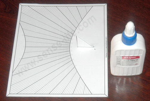 Солнечные часы изготовленные