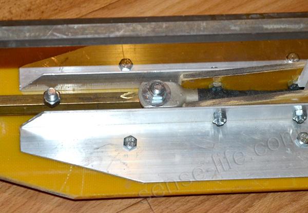 подключение силового провода точечной сварки