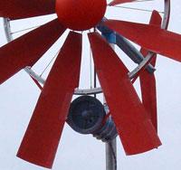 Кстати, этот узел ветрогенератора можно сделать проще, используя обычное велосипедное колесо, например...